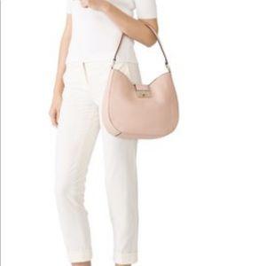 Kate Spade Warm Vellum Raya Hobo Bag Blush Pink